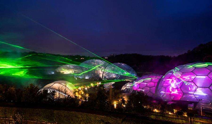 Festival Of Light And Sound At The Eden Project