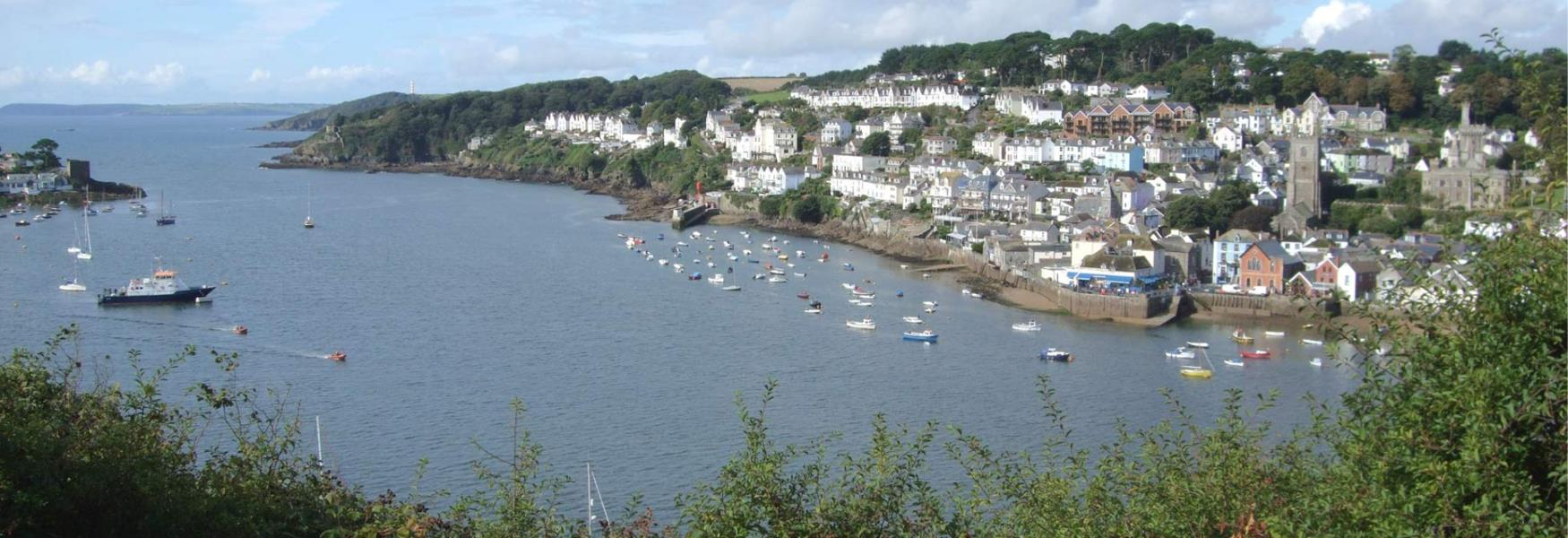 Fowey from the Hall Walk