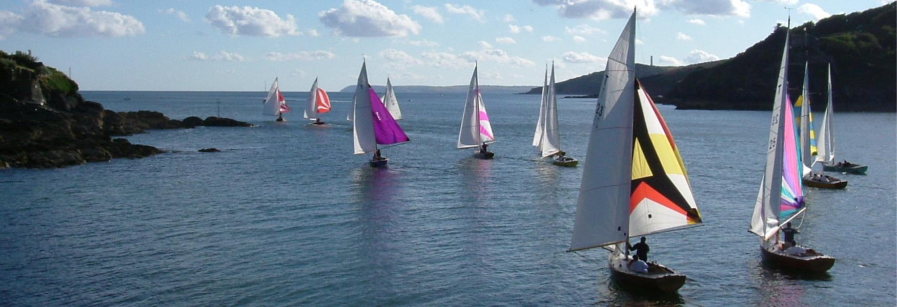 Troy class dinghies racing