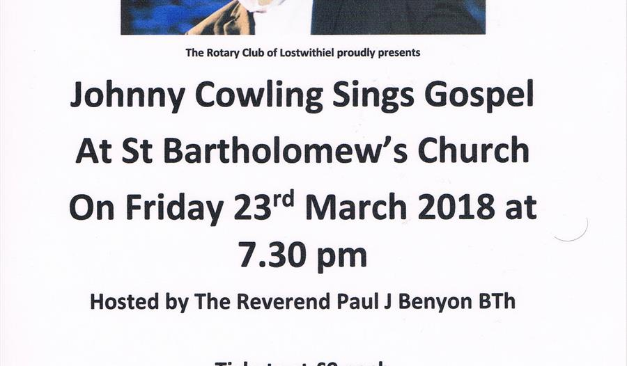 Johnny Cowling Concert